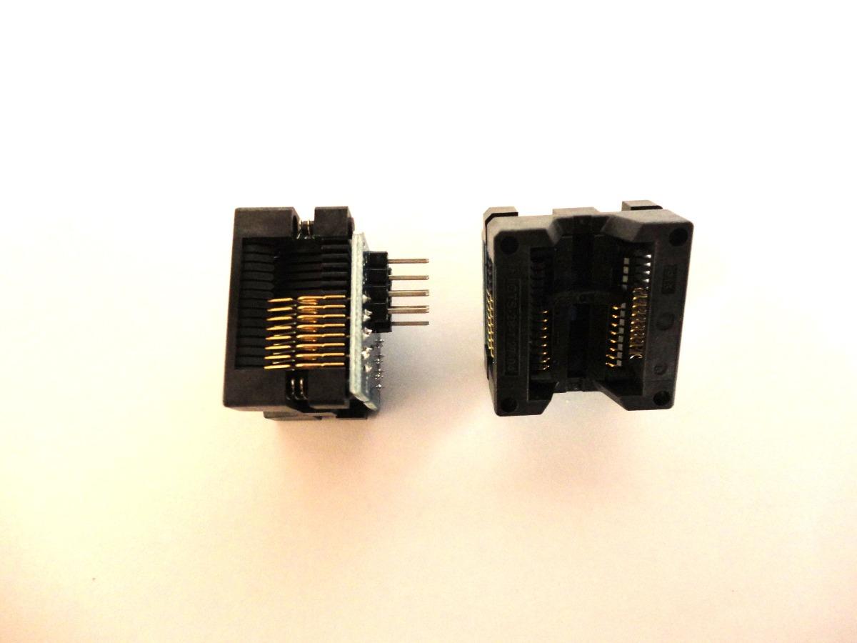 Kit 10 Adaptadores Soic16 Dip8 300mil Ezp2010 Rt809 Ch341a