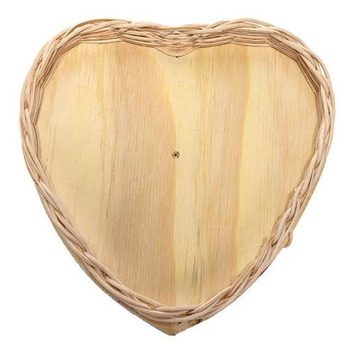 kit 10 bandeja lembrancinha cipó coração palha ref.212 03x22
