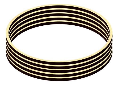 kit 10 bastidores de mdf crú moldura bordado crochê 22 cm