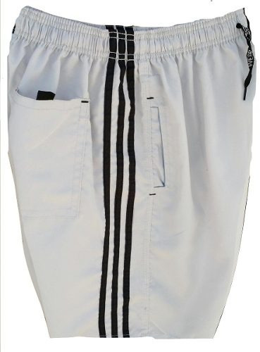 kit 10 bermudas short tactel 3 bolsos costura reforçada