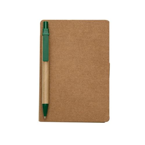 kit 10 bloco de anotações ecológico, c/post-it + caneta