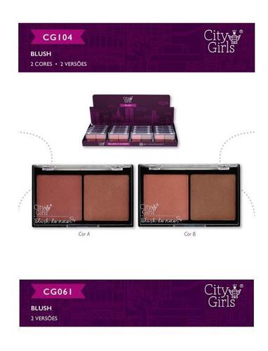 kit 10 blush city girls 2 cores 2 versoes cores alucinantes.