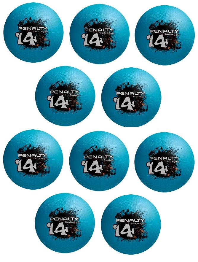 kit 10 bolas de borracha penalty iniciação infantil nº 14. Carregando zoom. 0de9212979277