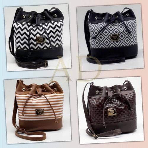 kit 10 bolsa feminina saco atacado revenda bolsinhas novas