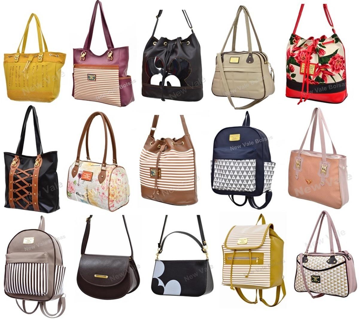 513510d23 kit 10 bolsas femininas p/ revenda preço de fábrica atacado. Carregando zoom .