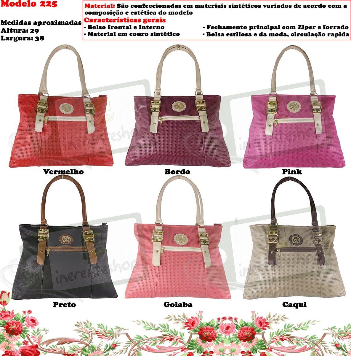 c55bc6356 kit 10 bolsas femininas preço de atacado promoção + brinde. Carregando zoom.