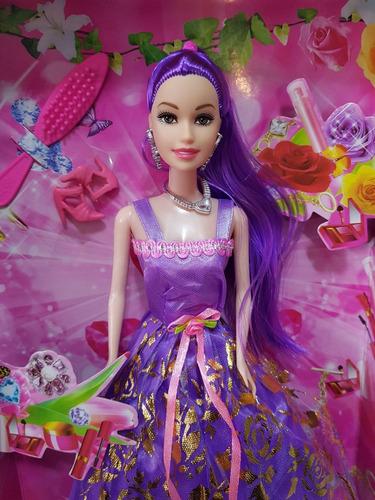kit 10 bonecas ana bela vestidos de princesas lindos atacado