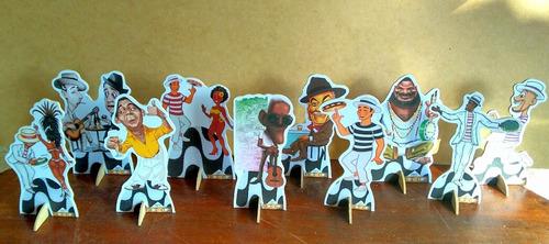 kit 10 boteco de mesa 15cm,display,festa infantil,mdf
