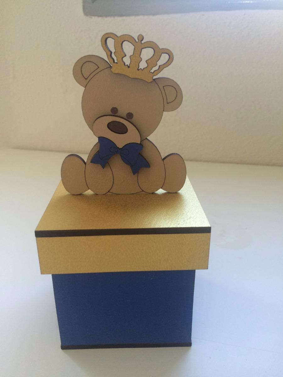 kit 10 caixa lembrancinha ursinho príncipe. Carregando zoom.