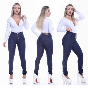 92443dbae Calça Jeans Flare Com 10 Botões - Calçados, Roupas e Bolsas no ...