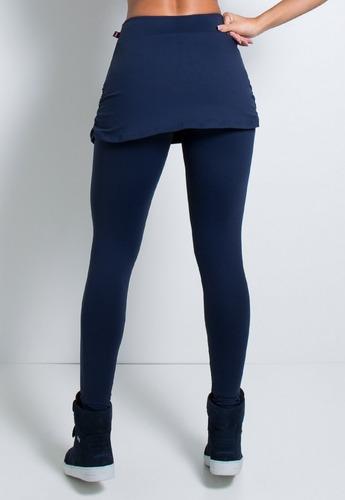 kit 10 calça legging suplex saia tapa bumbum revenda 070