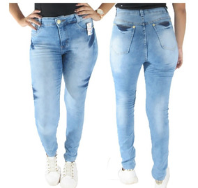 94fe90fb556dcd Kit 10 Calças Jeans Feminina C/lycra Roupa Feminina Atacado