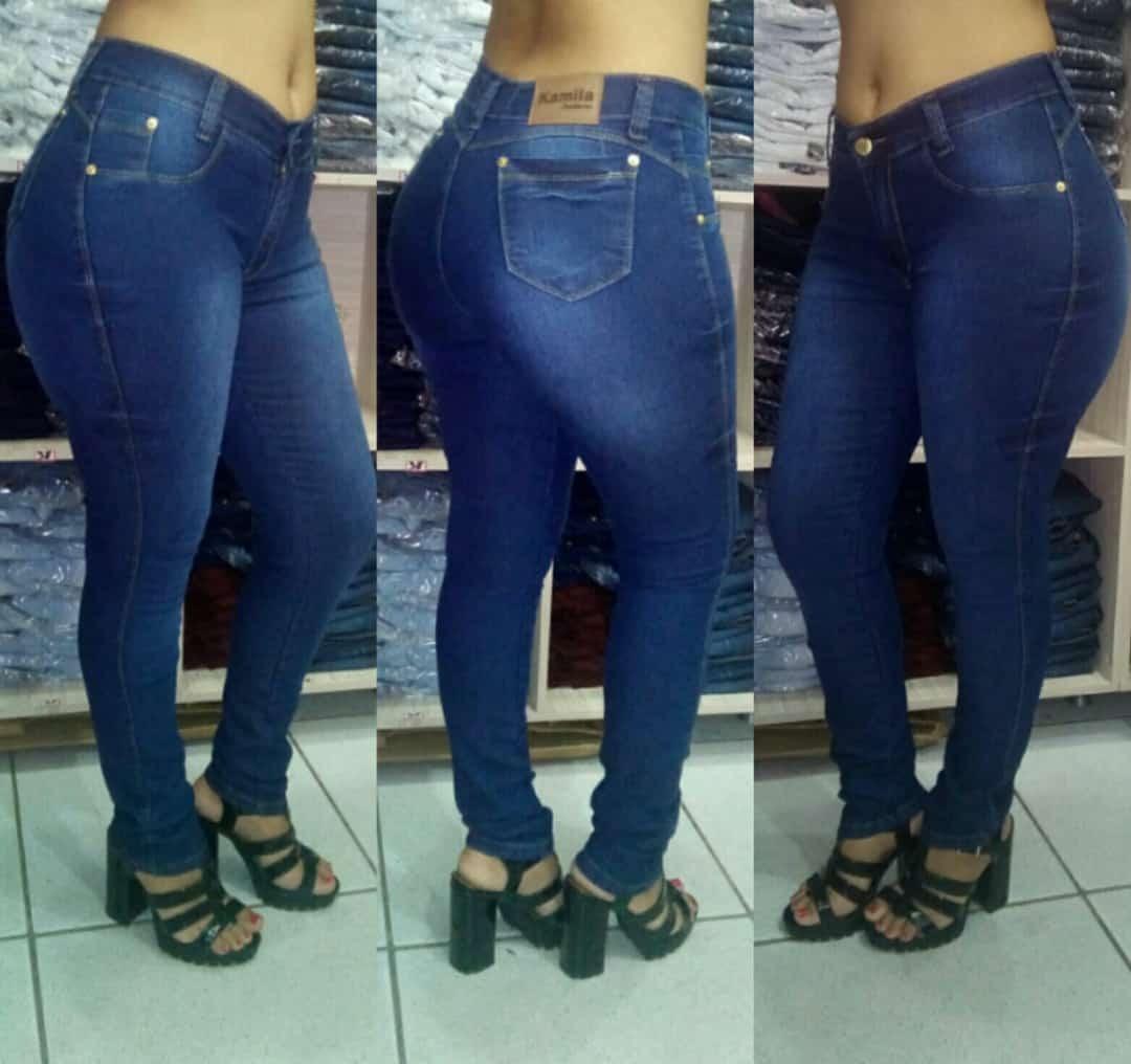 bae3204d98 kit 10 calças jeans feminina laycra 3% atacado de fabrica. Carregando zoom.