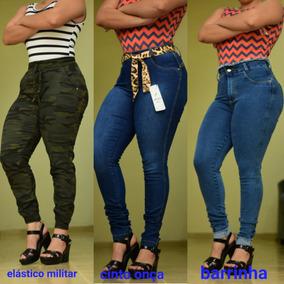 06d1158542934f Kit 10 Calças Jeans Feminina Laycra 3% Atacado Revenda