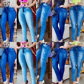 87a3a00d0 Kit 10 Calças Jeans Feminina Luxo Modela Bumbum #atacado