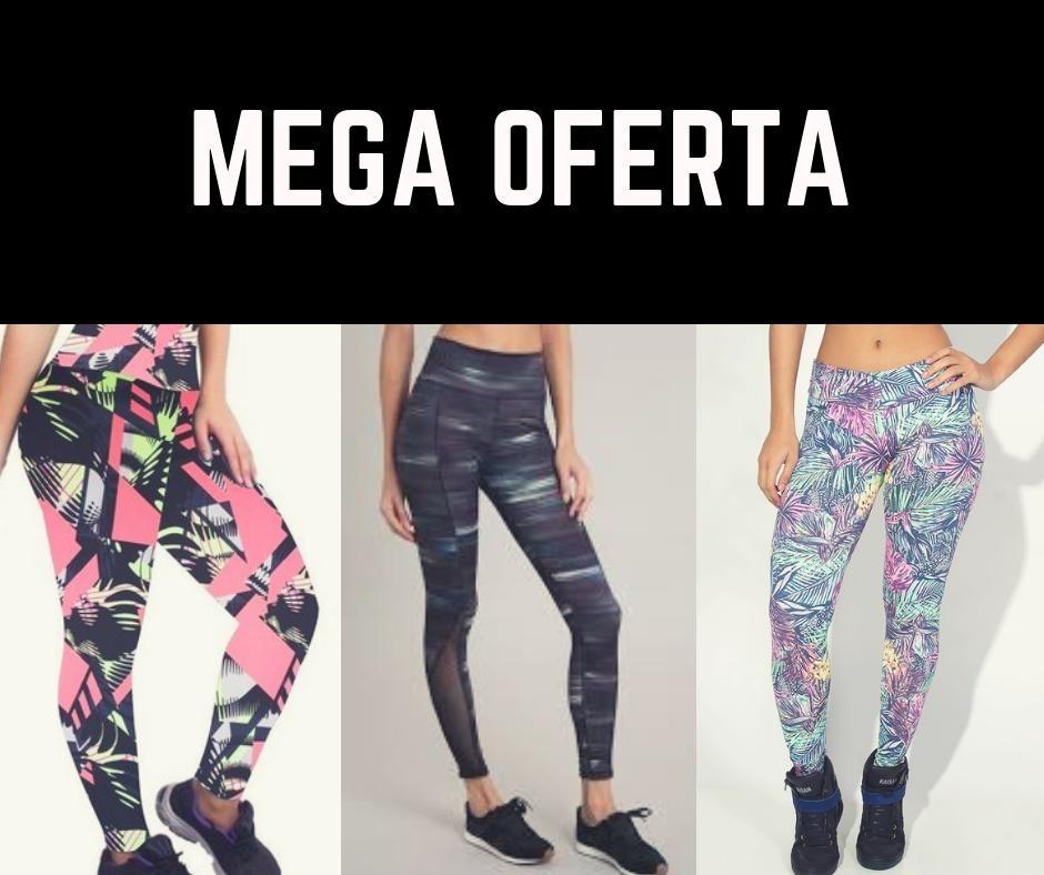 9d85c7ed6 Kit 10 Calças Legging Moda Fitness Feminina - Mega Oferta! - R  92 ...
