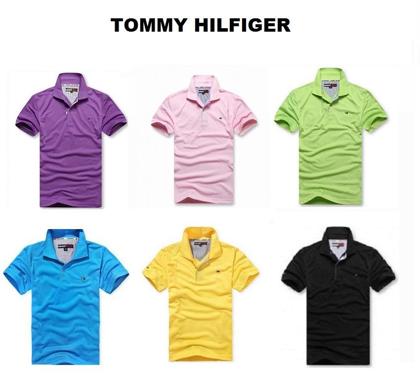 982cdcaa1fe40 Kit 10 Camisa Polo Blusa Masculina Alta Qualidade + Cores! - R  249 ...