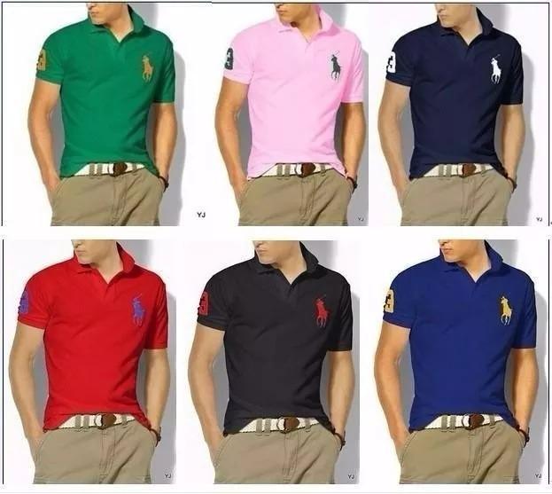 Kit 10 Camisa Polo G1 G2 G3 Marcas Menor Preço De Atacado - R  280 ... 85e8861f32d48