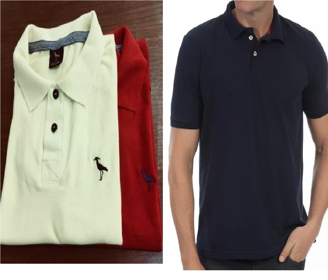5bbe3b5f0e4ea kit 10 camisa polo masculina  frete grátis norte e nordest. Carregando zoom.