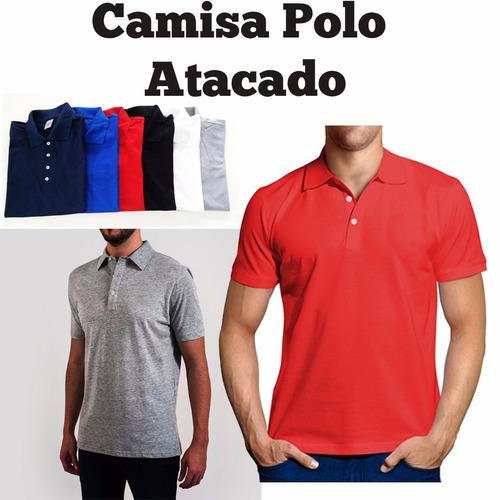 9e92438ffae4d kit 10 camisa polo masculina  frete grátis todo brasil. Carregando zoom.