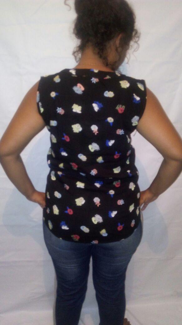 d54aaf7b89 kit 10 camisas blusa feminina social sem manga tecido+brinde. Carregando  zoom.