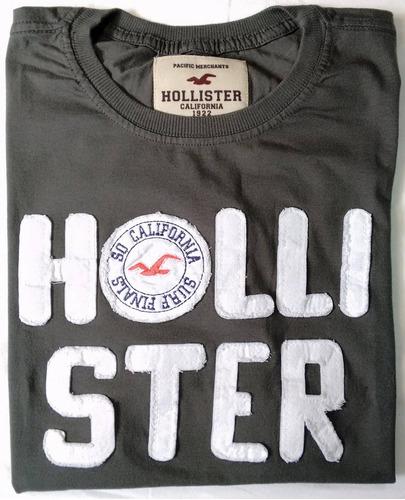 kit 10 camisas blusa hollister abercrombie masculina bordada