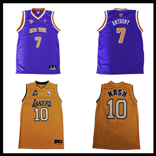 kit 10 camisas camisetas regata de basquete - nba