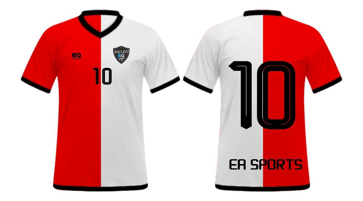 abf8e42eaa kit 10 camisas futebol personalizadas dry fit. Carregando zoom.
