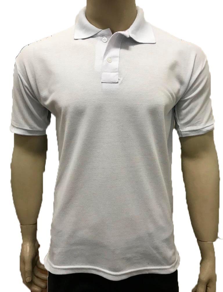 Kit 10 Camisas Gola Polo Branca Basicas Fim De Ano Atacadado - R ... a806c58326cc3