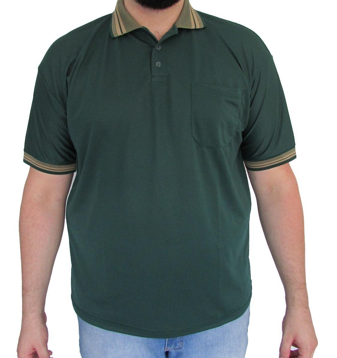 833b745db2 Kit 10 Camisas Gola Polo Dry Fit Detalhes Tamanho Grande - R$ 589,00 ...