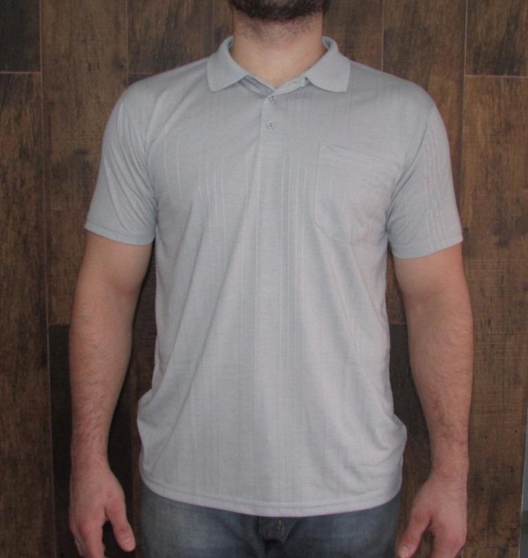 216f3cde01e27 kit 10 camisas gola polo poliviscose canelada com bolso. Carregando zoom.