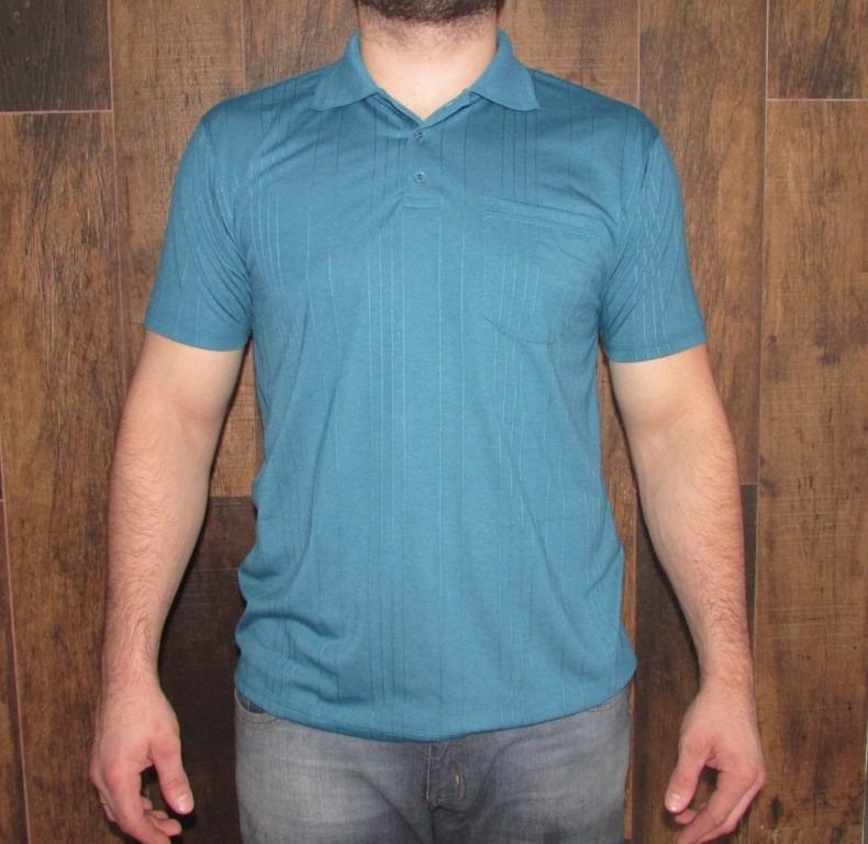 7441c759f9cf2 Kit 10 Camisas Gola Polo Poliviscose Canelada Com Bolso - R  579