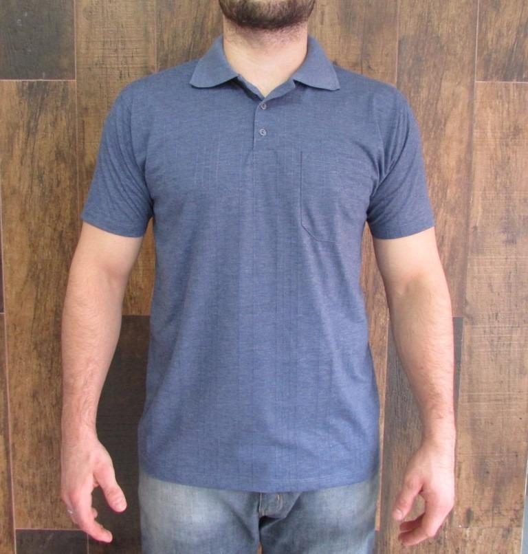 e2a75e9a1d56e kit 10 camisas gola polo poliviscose canelada com bolso. Carregando zoom.