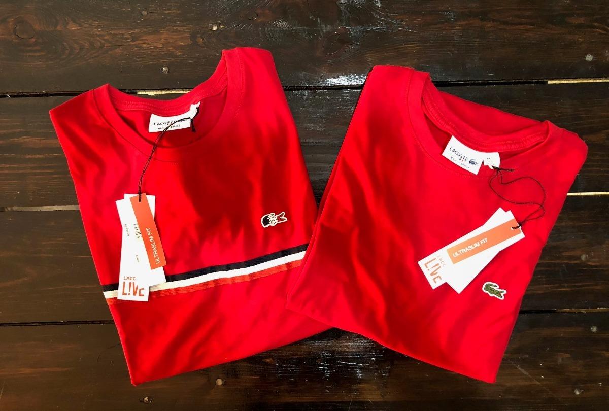 kit 10 camisas lacoste lisas e listradas - frete grátis. Carregando zoom. dd7b2a21a6