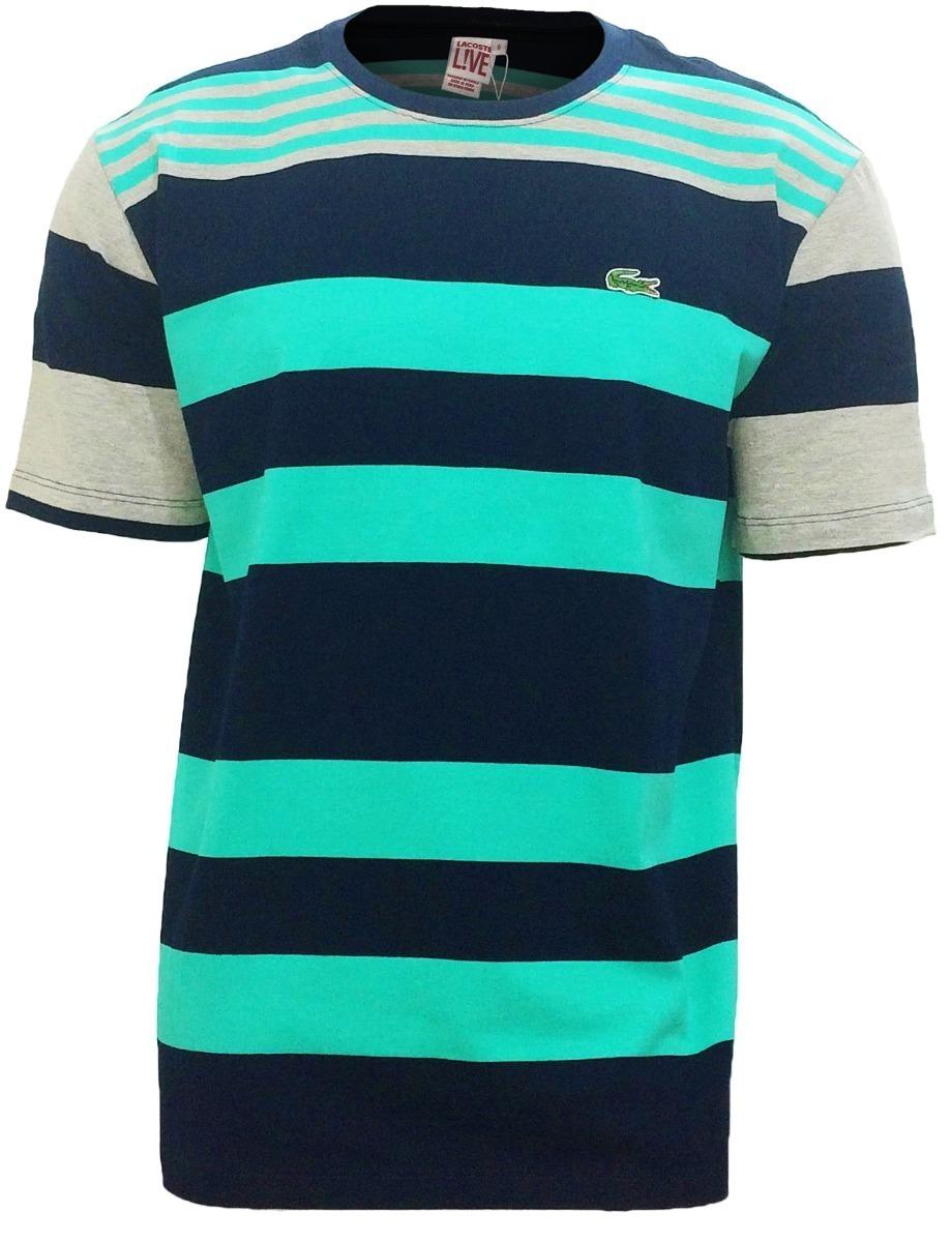 kit 10 camisas lacoste live listrada peruana - atacado. Carregando zoom. 5ca01114cb