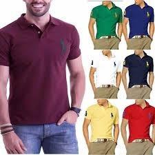 d0adb0760 Camisa Polo De Grife Original - Pólos Masculino Manga Curta no ...