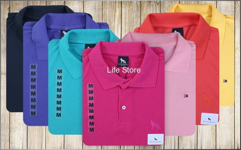kit 10 camisas polo básica marcas famosas revenda atacado. Carregando zoom. 8d09869a74964