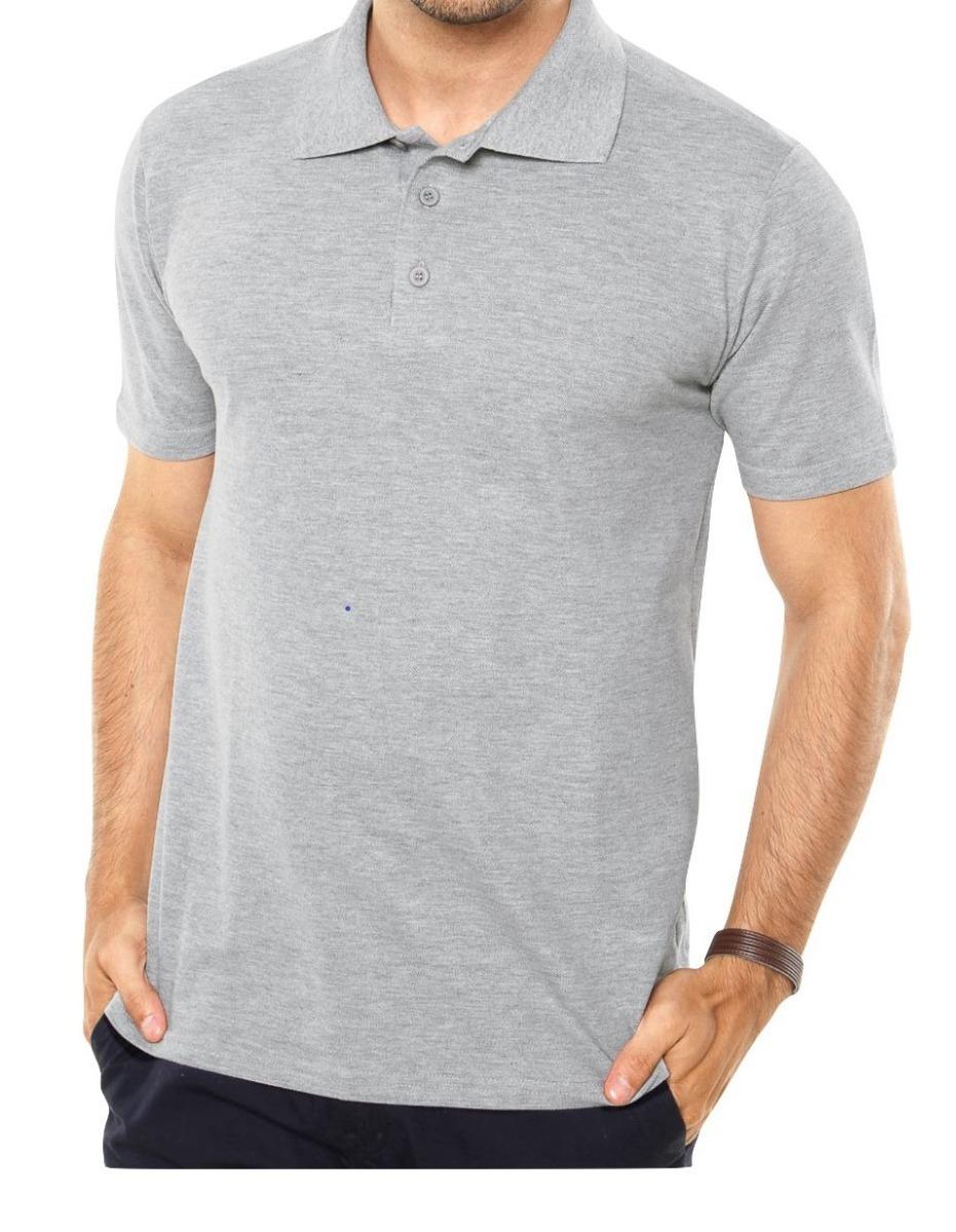 c750128770 kit 10 camisas polo de piquet (lisa) para bordar ou estampar. Carregando  zoom.