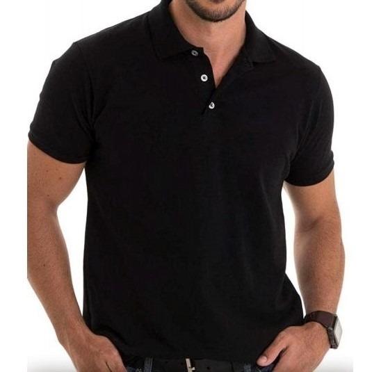 536830a41c Kit 10 Camisas Polo De Piquet (lisa) Para Bordar Ou Estampar - R ...