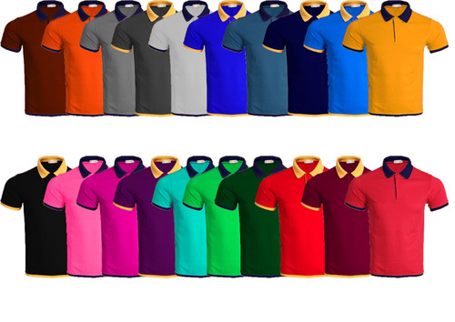 kit 10 camisas polo masculina atacado blusa camiseta de luxo