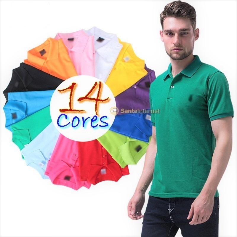 9c15cc9a3 kit 10 camisas polo masculina frete grátis. Carregando zoom.