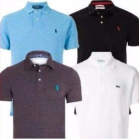 kit 10 camisas polo masculina varias marcas aproveite!!!!!