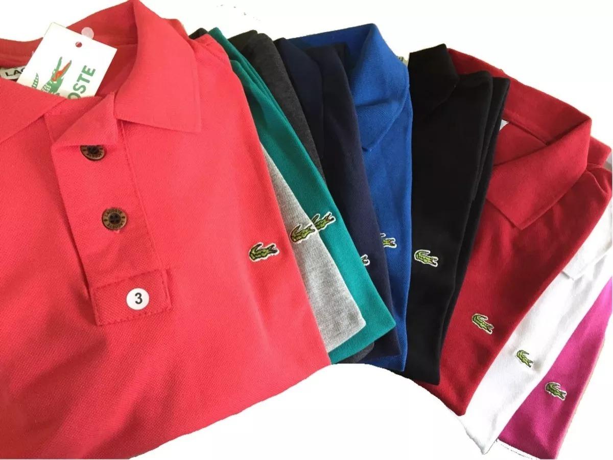 kit 10 camisas polo varias marcas atacado revenda lucre. Carregando zoom. e834f90465d8e