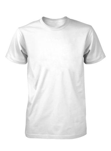 kit 10 camiseta branca para sublimação 100%poliester