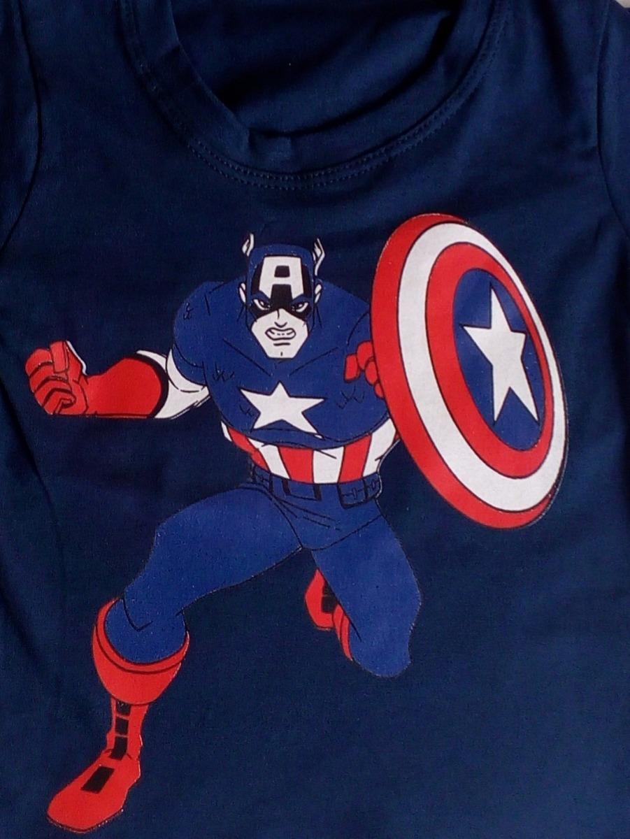 c62e731da Kit 10 Camiseta Infantil Menino Manga Curta Personagem Hero - R$ 100 ...