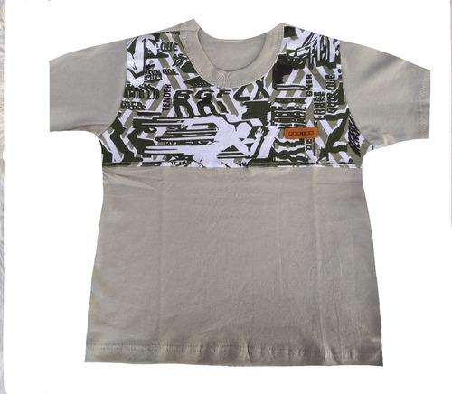 kit 10 camiseta infantil menino personagem herois