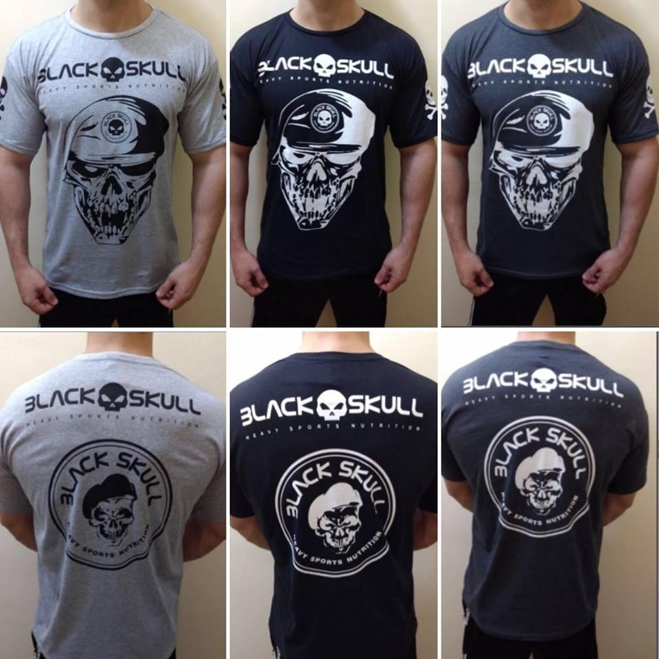 d681f2c0da19b kit 10 camiseta masculina black skull academia fitness. Carregando zoom.