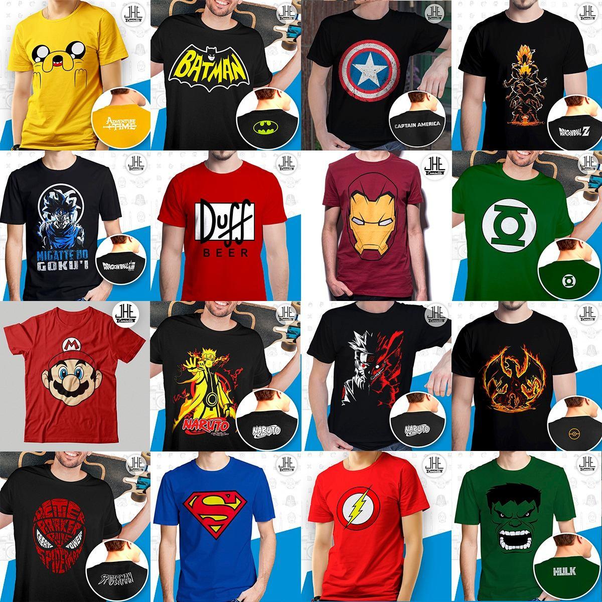 a51bd7aaf9 kit 10 camisetas animes banda de rock séries atacado revenda. Carregando  zoom.