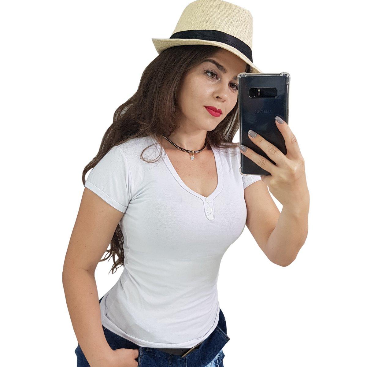 cf64022771 Kit 10 Camisetas Blusas Camisas Femininas Roupas Revenda Top - R ...