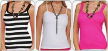 kit 10 camisetas blusas feminina alcinha cores lisa atacado